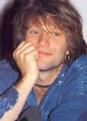 Bon Jovi - 'Jon Denim Shirt' Postcard